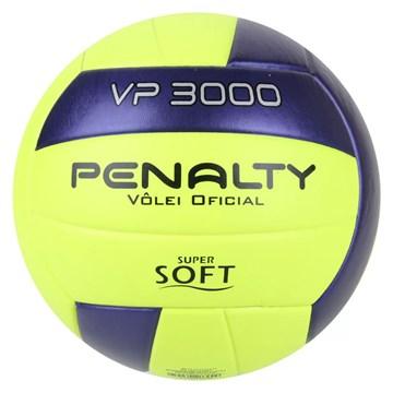 Bola Vôlei Penalty VP 3000 X - Amarelo e Roxo