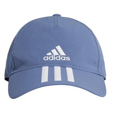 Boné Adidas Baseball Aeroready 3 Stripes - Azul