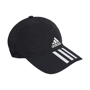 Boné Adidas Baseball Aeroready 3 Stripes - Preto