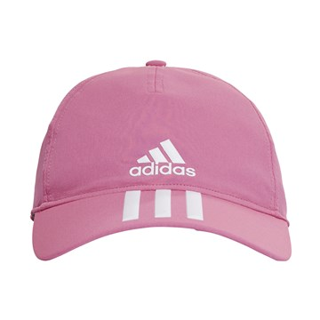 Boné Adidas Baseball Aeroready 3 Stripes - Rosa