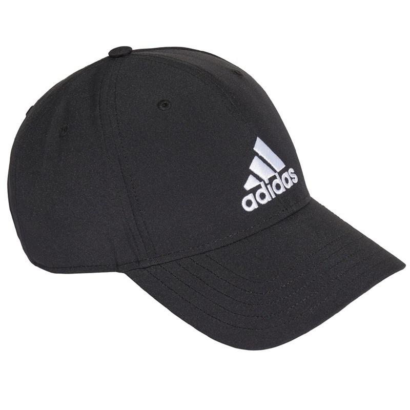 Boné Adidas Baseball Logo Bordado - Preto