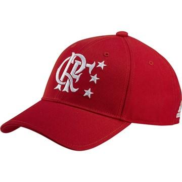 Boné Adidas CR Flamengo Snapback Ano de Ouro - Vermelho
