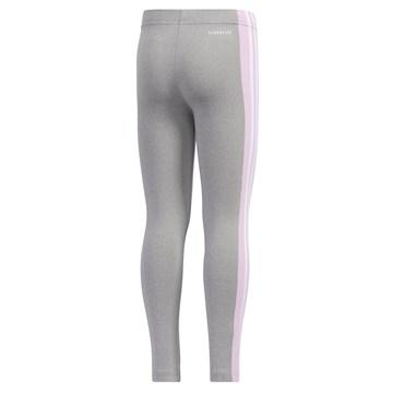 Calça Legging Adidas Originals Infantil - Cinza e Rosa