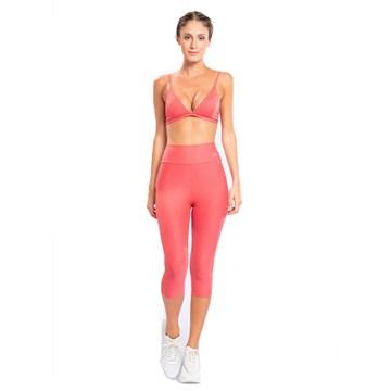 Calça Legging Capri Live! Active Essential Feminina - Rosa