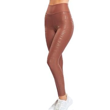 Calça Legging Live! Essential Feminina - Marrom