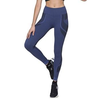 Calça Legging Selene Sem Costura Feminina - Azul