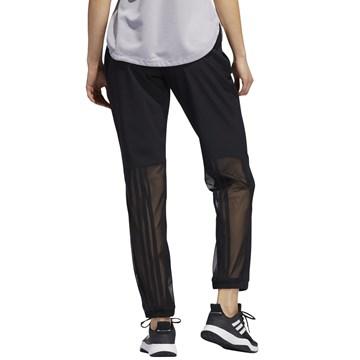 Calça Moletom Adidas 3-Stripes Feminina - Preto