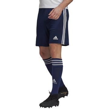 Calção Adidas Squadra 21 Masculino - Marinho e Branco