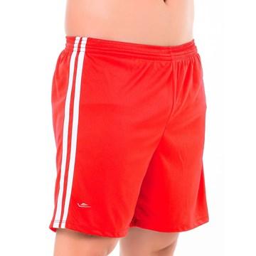 Calção Elite Essential Oreste Granillo Plus Size Masculino - Vermelho