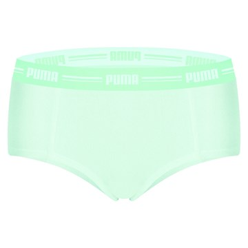 Calcinha Puma Mini Boxer Feminina - Verde