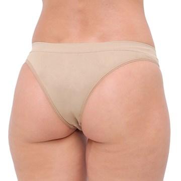 Calcinha Selene Biquíni Sem Costura Feminina - Nude