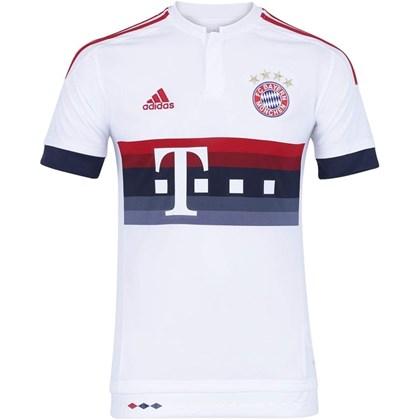 0e4ec56b992a1 Camisa Adidas Bayern de Munique Oficial 2 AH4790 - EsporteLegal