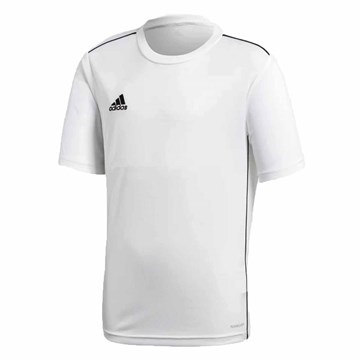 Camisa Adidas Core 18 Treino Infantil - Branco