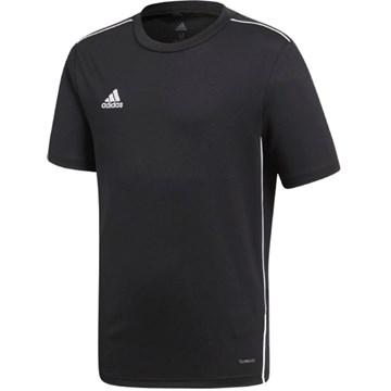 Camisa Adidas Core 18 Treino Infantil - Preto