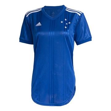 Camisa Adidas Cruzeiro Oficial I 2020/21 Feminina