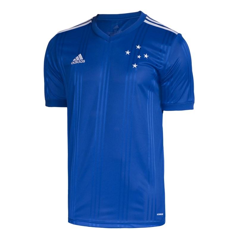 Camisa Adidas Cruzeiro Oficial I 2020/21 Masculina