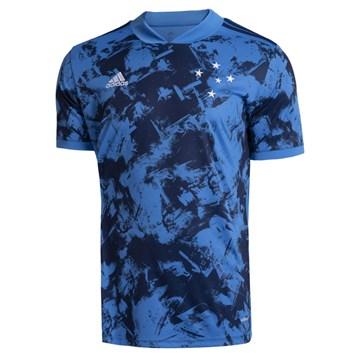 Camisa Adidas Cruzeiro Oficial III 2020/21 Masculina