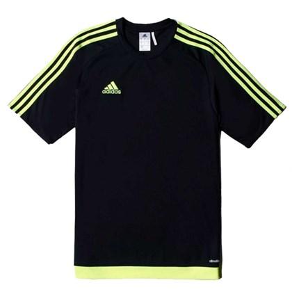 1ef0e44756854 Camisa Adidas Estro 15 - Preto e Lima - Esporte Legal