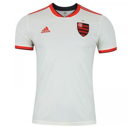 46b3a7e9452ab Camisa Adidas Flamengo II 2018 Masculina - Branco - Esporte Legal