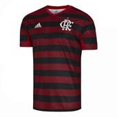 Camisa Adidas Flamengo Oficial I 2019 Masculina