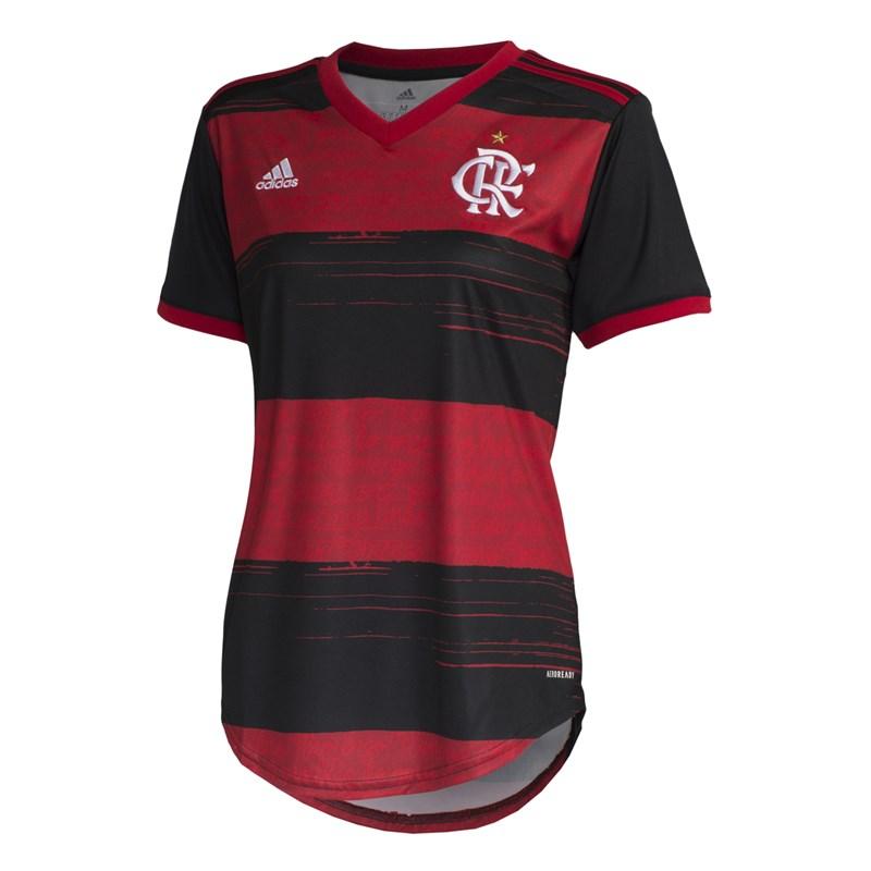 Camisa Adidas Flamengo Oficial I 2020 Feminina