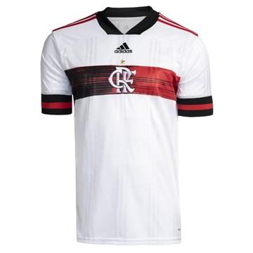 Camisa Adidas Flamengo Oficial II 2020 Masculina