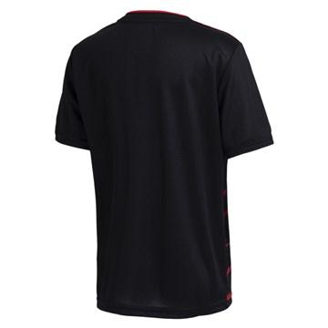 Camisa Adidas Flamengo Oficial III 2020/21 Infantil