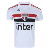 Camisa Adidas Oficial São Paulo I 2018 Masculina