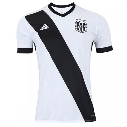 d8591425b Camisa Adidas Ponte Preta I Masculina - Branco e Preto - Esporte Legal