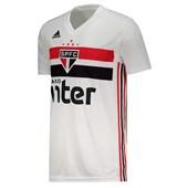 Camisa Adidas São Paulo Oficial I 2019/2020 FAN S/N° Masculina