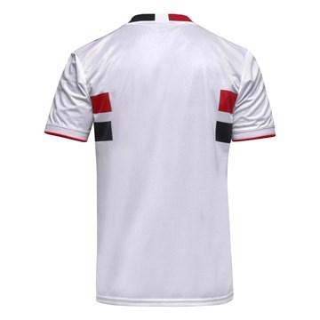 Camisa Adidas São Paulo Oficial I 2020/21 Masculina - Branco