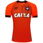 Camisa Athletico Paranaense Oficial II 2017 Umbro Masculina