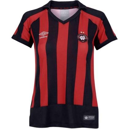 Camisa Atlético Paranaense Feminina Oficial Umbro e1a5a38db76e9