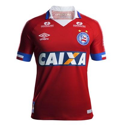 f025cca984 Camisa Bahia Umbro Oficial 3 2017 2018 (S N) - Masculina - EsporteLegal