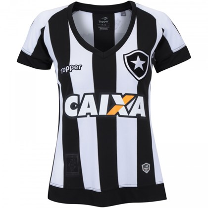 d69859e11b Camisa Botafogo I 2017 Topper Feminina - 4200985 - EsporteLegal