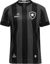 Camisa Botafogo Topper Oficial 3 Infantil 10 a 14 Anos