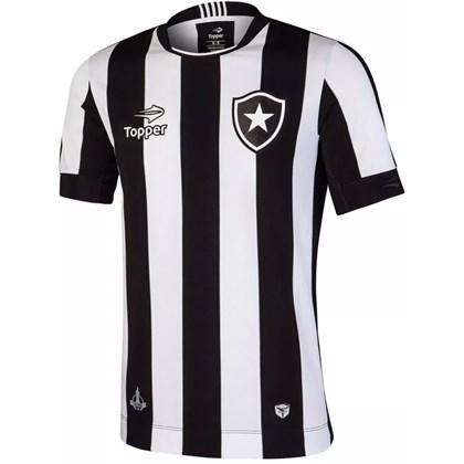 Camisa Botafogo Topper Oficial Home dd2f7c0740a34