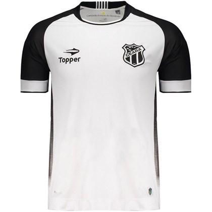 Camisa Ceará Topper Oficial II Nº10 11b3c42444668