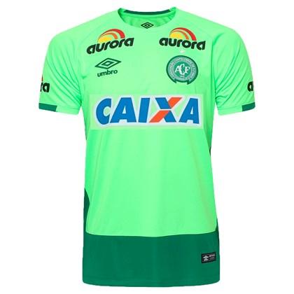 16ad55da82264 Camisa Chapecoense Goleiro Danilo Umbro Nº 1