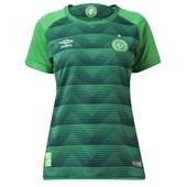 Camisa Chapecoense I 2017 Oficial Umbro Feminina