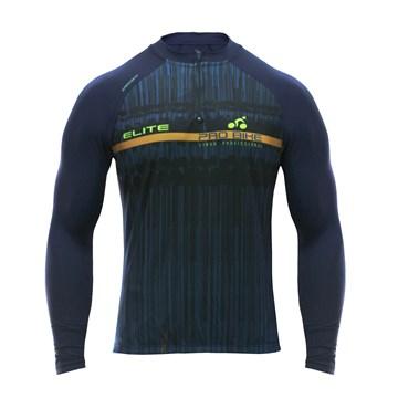 Camisa Ciclismo Elite Di Lorenzo Manga Longa Masculina