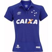 Camisa Cruzeiro Feminina Oficial 1 Umbro 3E00011