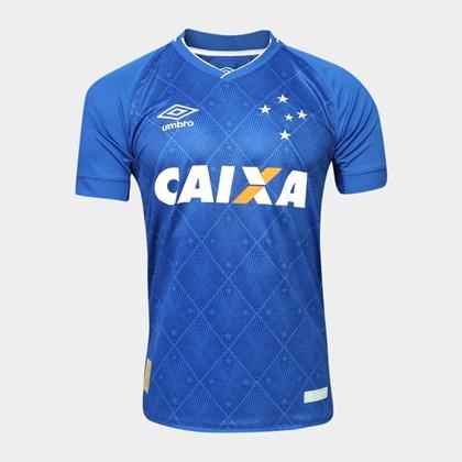 2fe8a0e1a7 Camisa Cruzeiro Oficial 1 2017 S N