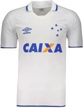 Camisa Cruzeiro Umbro Jogo Oficial 2 2017