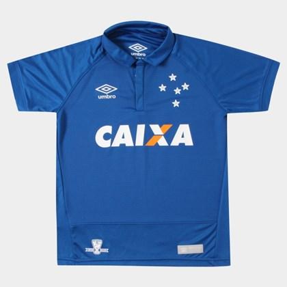 da87ff62ce Camisa Cruzeiro Umbro Juvenil 3E00013 8 A 14 Anos