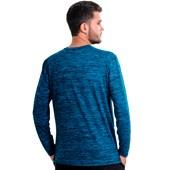 Camisa EL Manga Longa Rajada Plank UV45 Masculina