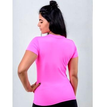 Camisa Esporte Legal Baby Look Solutio UV45+ Feminina