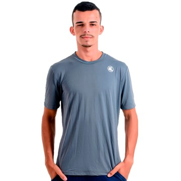Camisa Esporte Legal Poliamida Lisa UV45+ Masculina