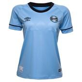 Camisa Feminina Grêmio Umbro Oficial Charrua 2018