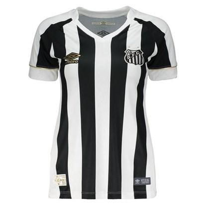1ef46980e3 Camisa Feminina Santos Umbro Oficial 2 2018 - EsporteLegal